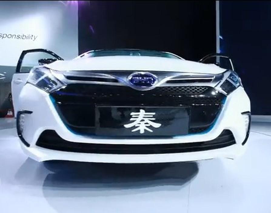 """2012北京车展现场解析比亚迪""""秦"""""""