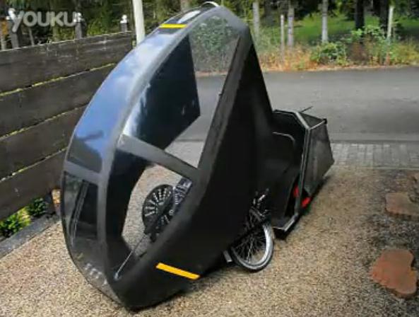 老外DIY顶级电动自行车