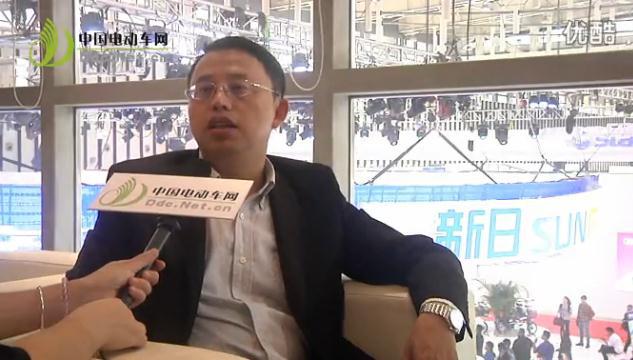 2013南京电动车展:专访江苏新日电动车股份有限公司