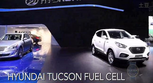 現代途勝電動汽車-2013洛杉磯車展