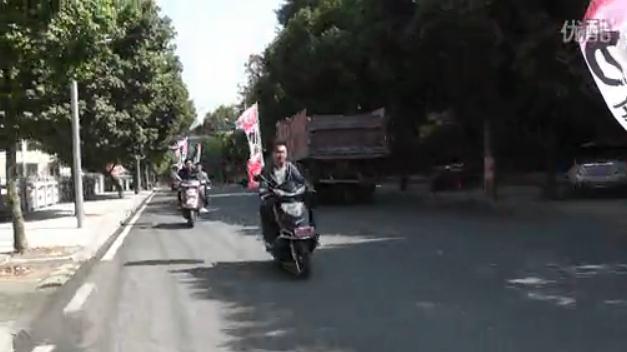 德化小刀电动车街头巡演