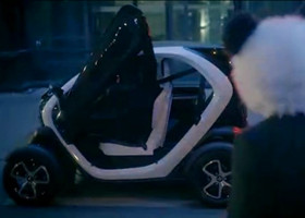 超酷双座电动汽车:雷诺Twizy正式上市