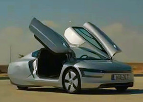 Volkswagen XL1 混合电动汽车