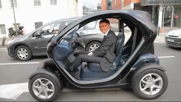 雷诺Twizy电动车试驾