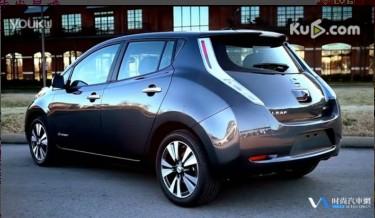 2014 Nissan Leaf facelift 尼桑电动汽车试驾