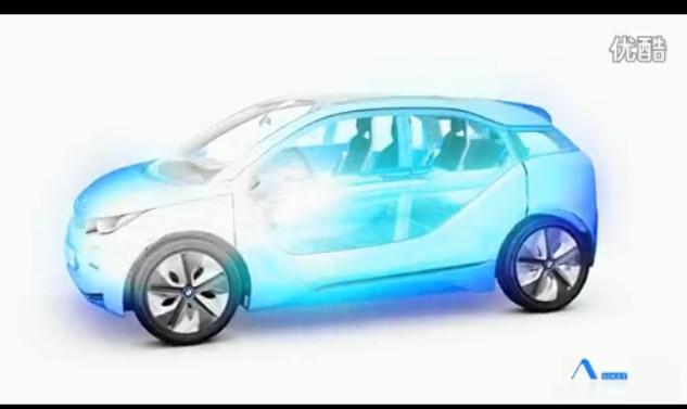 宝马 i3 电动汽车展示及讲解