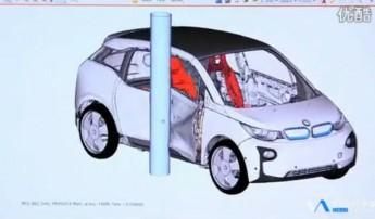 宝马i3电动汽车 试驾展示及讲解