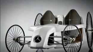 新款奔驰B级电动车Mercedes F-Cell