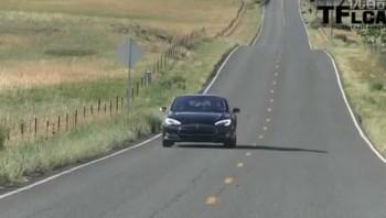 纯电动车型2013款特斯拉Model S深度试驾