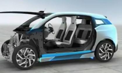 宝马i3纯电动汽车 设计师概述细节