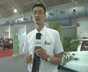2014北京展中国电动汽车网专访江苏道爵新能源车业