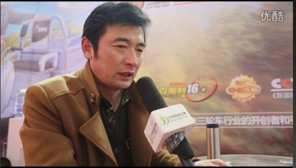 2015徐州展:专访百事利电动车业有限公司营销中心总经理  谢道永