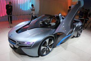 宝马i8 Spyder混合动力概念车