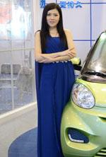 优迪电动汽车车模