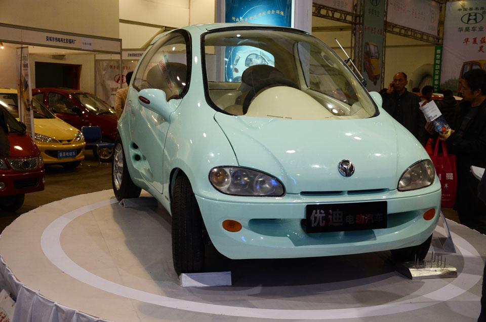 优迪电动汽车高清图片