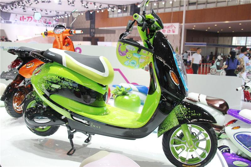 大款电动自行车(绿色)