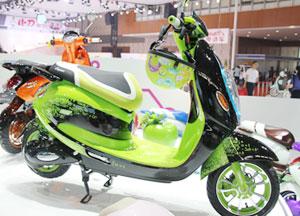 大款電動自行車(綠色)