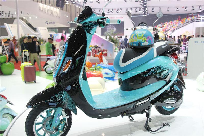 大款电动自行车(蓝色)