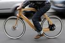 德国设计师发明木质电动自行车