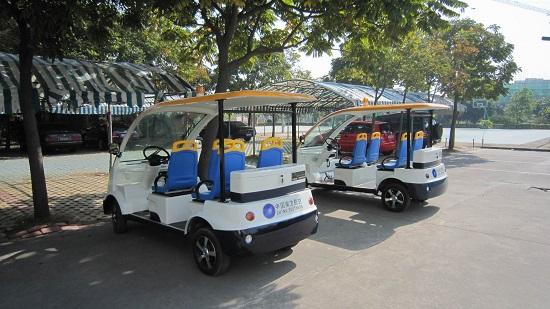 世园会内暂定3条观光线 投入60辆电动观光车