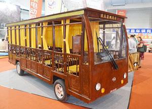 英克莱观光车