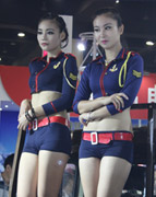 郑州展车模