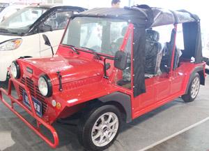 红色大气汽车