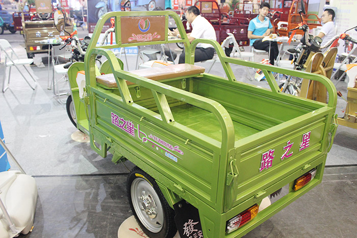 路之星三轮车(绿)