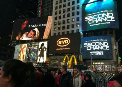 比亚迪登陆纽约时代广场 崭露新能源汽车霸主锋芒