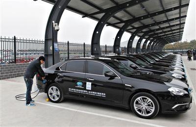 青岛建机场电动车充电桩 27个充电终端