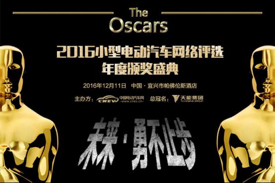 2016小型电动汽车网络评选颁奖盛典参会指南