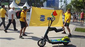 一位新日巴西里约经销商的奥运情缘:我爱你中国