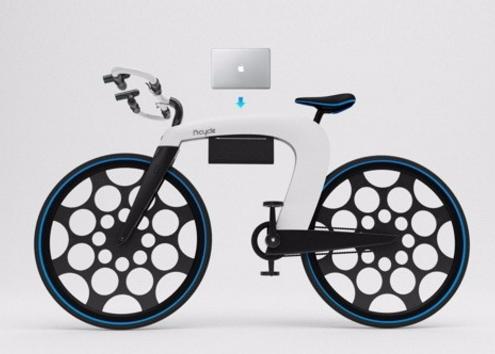 极简智慧又聪明 智能电动自行车nCycle