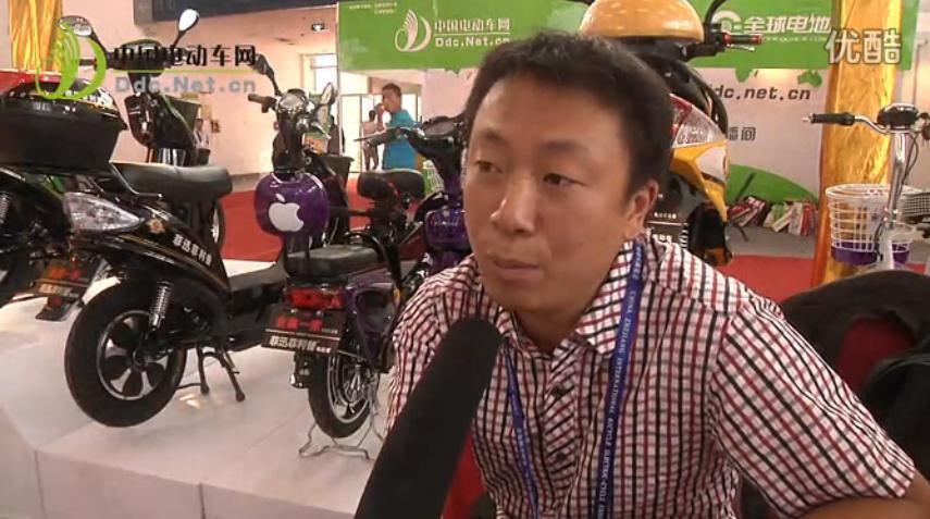 专访宁波菲利普电动车有限公司销售经理 郑俊兵