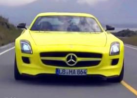 库特哈德试驾奔驰SLS电动跑车E-CELL