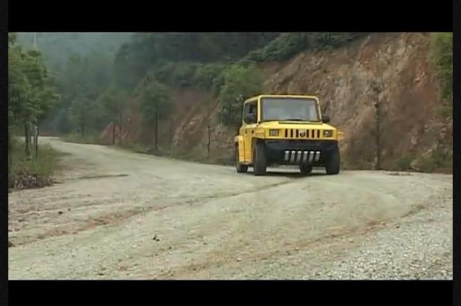 中国首款最好玩的纯电动汽车陆地方舟劲玛