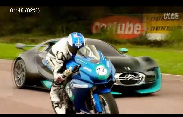 雪铁龙Survolt概念车vs电动摩托车