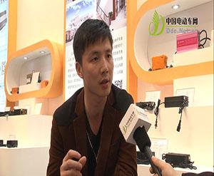 2014天津展:中国电动车网专访江禾高科电子有限公司