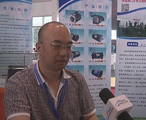 2014北京展中国电动汽车网专访淄博休普电机电器