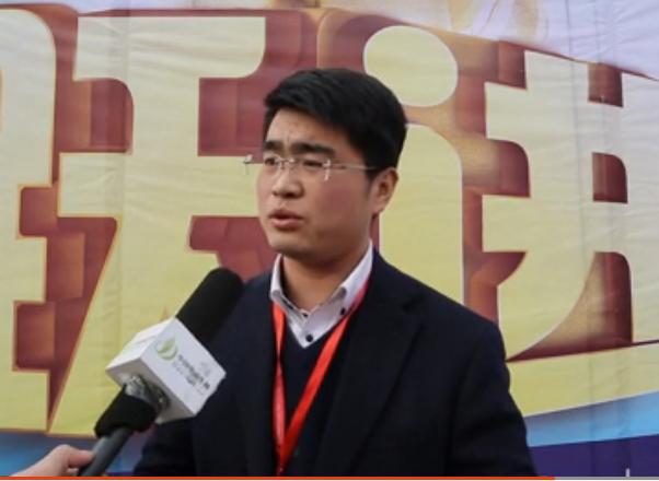 2015徐州展:专访江苏跃进摩托车制造有限责任公司市场部长  王旭升