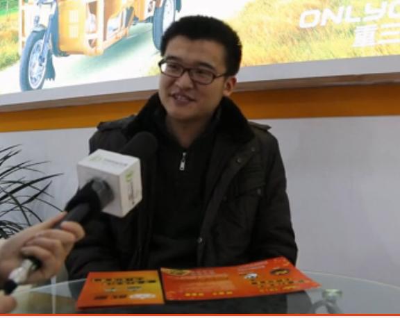 2015徐州展:专访小刀(欧皇重三轮)电动车总经理 刘劲松