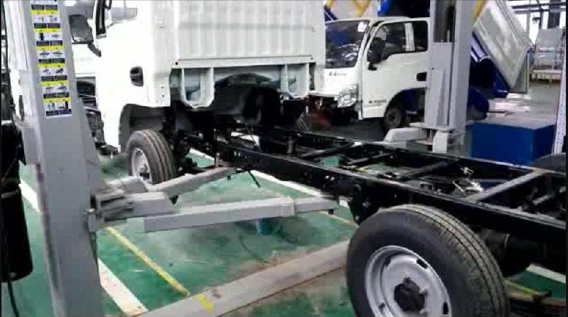 视频: 纯电动自装卸式垃圾车-生产工艺流程视频