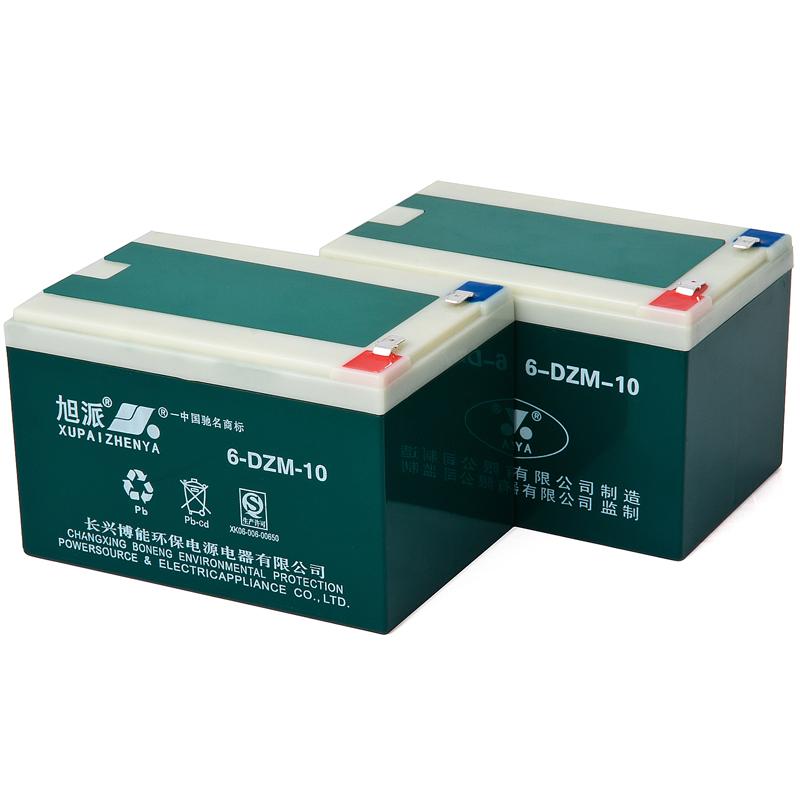 江苏旭派6-DZM-10电动车电池