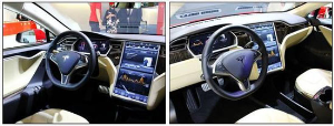 特斯拉2014款MODEL S85电动轿车