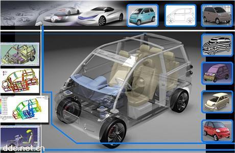 宏瑞H3(白色)款电动汽车