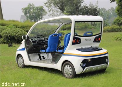 米森牌4座治安安保电动巡逻车