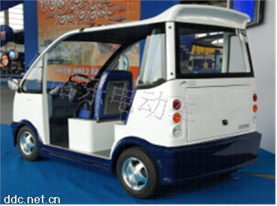 诺乐工业园区敞开式四座电动巡逻车