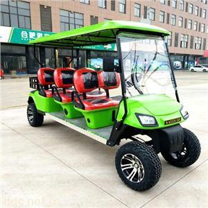 傲森品牌正三排6座电动高尔夫车