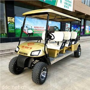 傲森品牌直销电动6座电动高尔夫车加斗