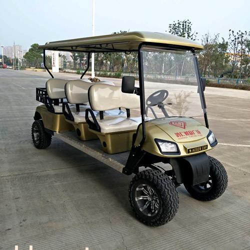 傲森品牌直销电动高尔夫球车6人座